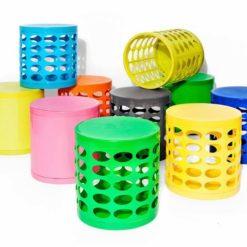 Otto Storage Stools multicolor