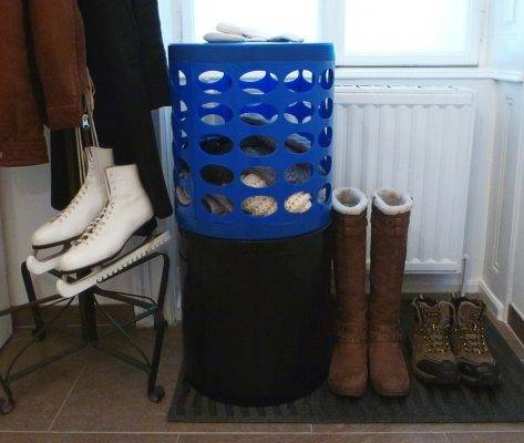 Organizing your Entryway in Winter