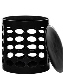 OTTO Storage Stool – Black