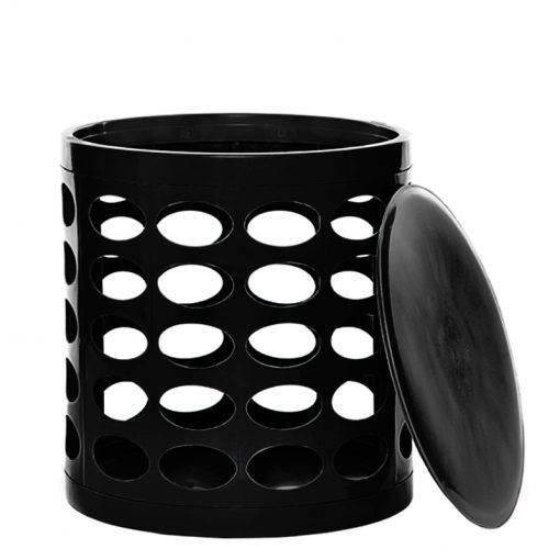 OTTO Storage Stool – Black