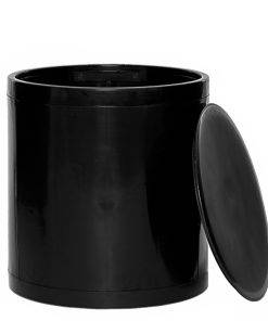 OTTO Storage Stool Solid – Black