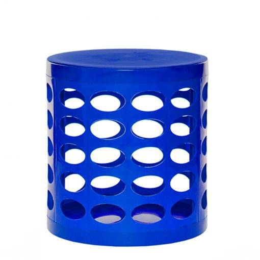 Otto Storage Stool Blue