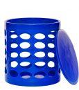 OTTO Storage Stool – Blue