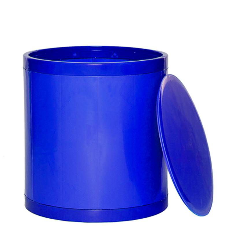 OTTO Storage Stool Solid – Blue