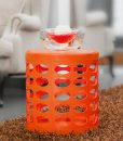 OTTO-storage-stool-dark-orange-hotel-sidetable1