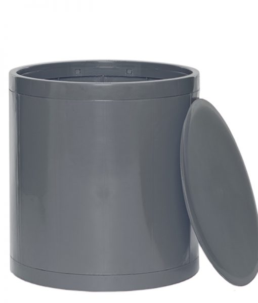 OTTO Storage Stool Solid – Grey