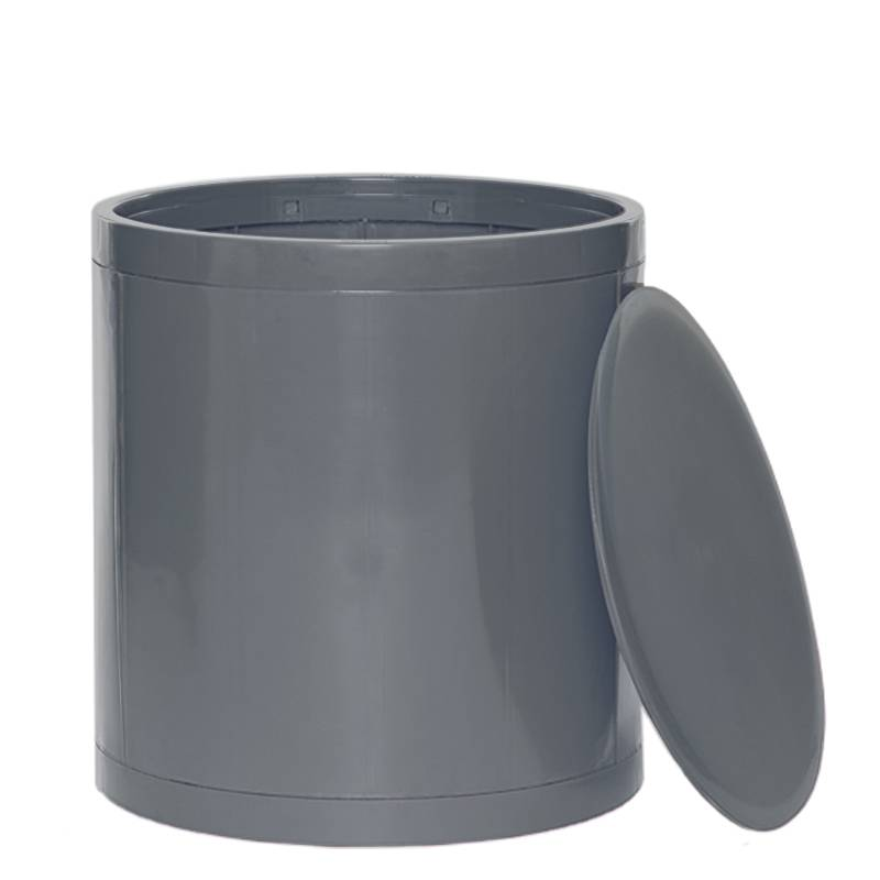OTTO Storage Stool Solid – Grey