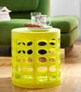 OTTO-storage-stool-lime-green-oval-side-table-in-flat1