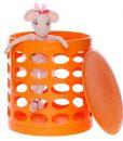 OTTO-storage-stool-orange-oval-soft-toy1
