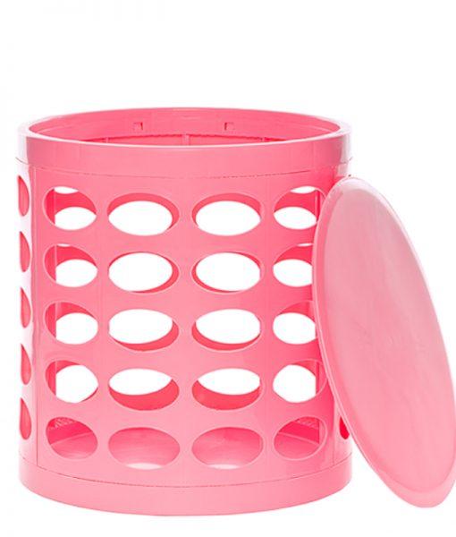 OTTO Storage Stool – Pink