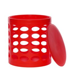 OTTO Storage Stool – Red