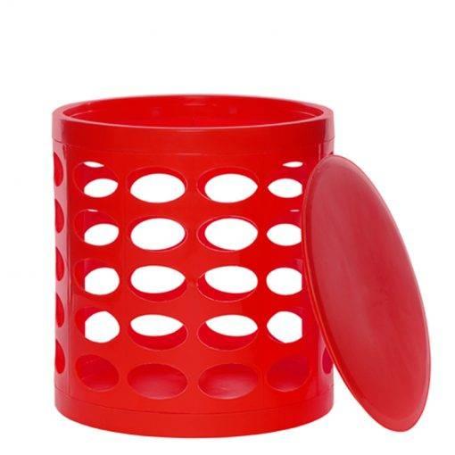 OTTO Storage Stool – Red