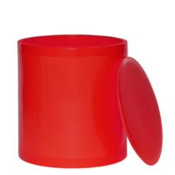 OTTO Storage Stool Solid – Red