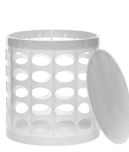 OTTO Storage Stool – White