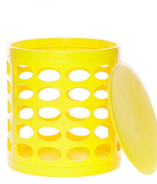 OTTO Storage Stool – Yellow