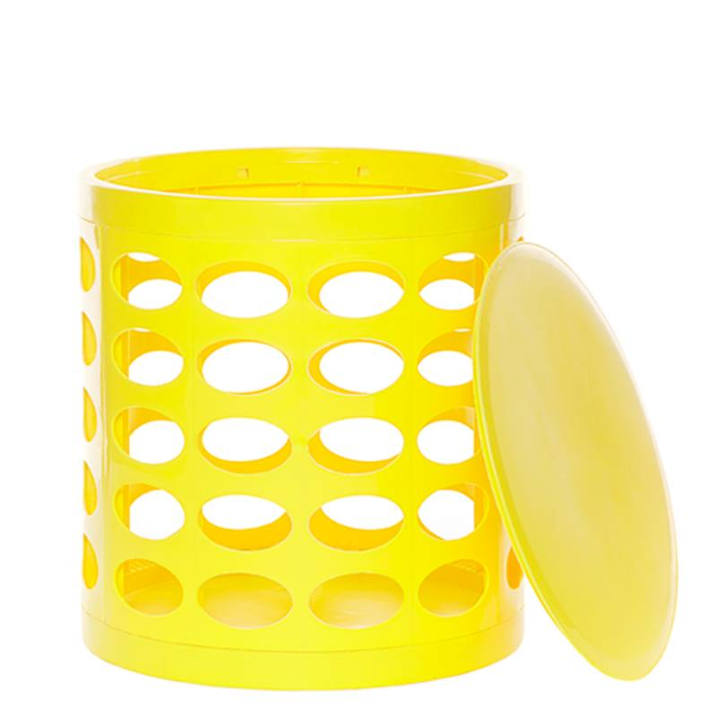 OTTO Storage Stool – Yellow