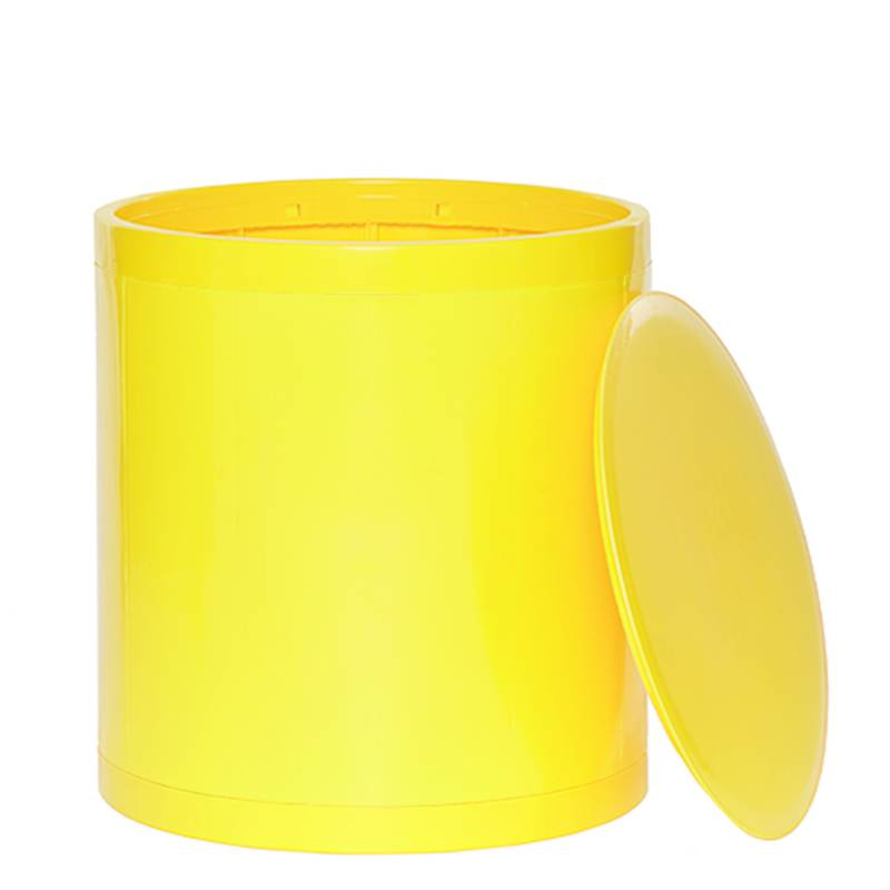 OTTO Storage Stool Solid – Yellow