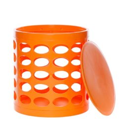 OTTO Storage Stool – Orange