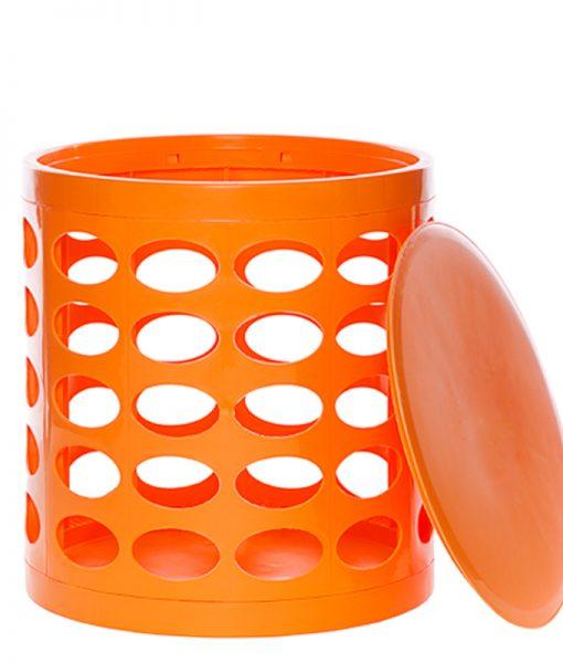 OTTO Storage Stool – Orange