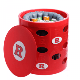 Rutgers-Otto-Storage-Stool-open-with-liner-cooler-filled